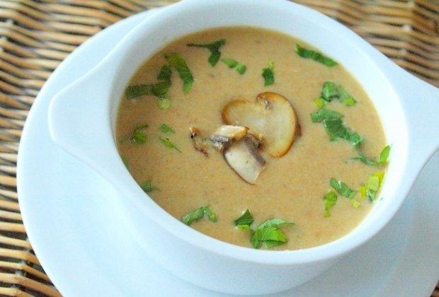 Крем-суп грибной для мультиварки
