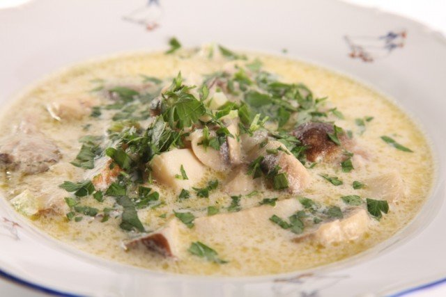 Итальянский грибной суп