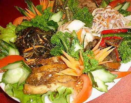 Грибной салат «ренессанс»