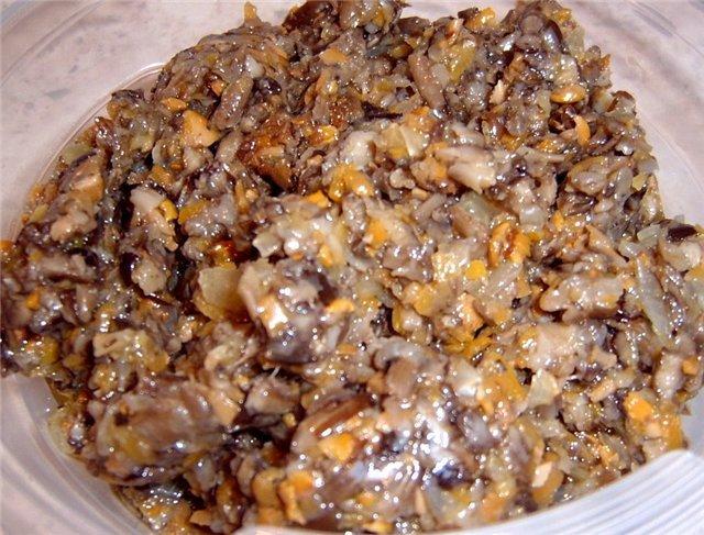 рецепт грибной икры из обабков